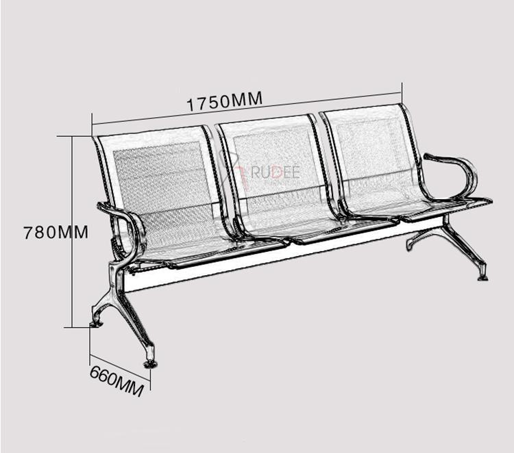 rd-publicchair-3seat size