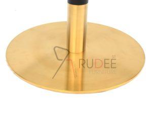 ขาโต๊ะสแตนเลสสีทอง ฐานกลม 201