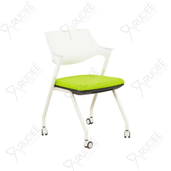 เก้าอี้สัมมนา เก้าอี้เทรนนิ่ง Lecher chair รุ่น RD-LECHER-BJX-301-2flip