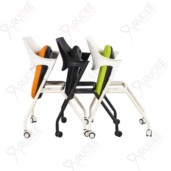 เก้าอี้สัมมนา เก้าอี้เทรนนิ่ง Lecher chair พับเก็บได้