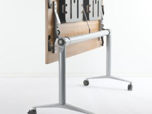 โต๊ะสัมมนา ล้อเคลื่อนที่พับเอนท็อป