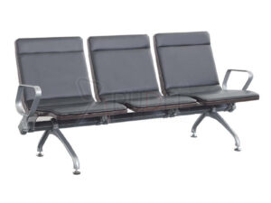 เก้าอี้สาธารณะ เก้าอี้แถว เบาะPU 3ที่นั่ง พนักพิงทรงสูง รุ่น RD-PBC-P1809 คุณสมบัติใช้สำหรับนั่งพักคอยในพื้นที่ส่วนกลางสาธารณะรุ่น3ที่นั่ง