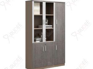 ตู้เอกสาร ตู้ใส่แฟ้มหน้ากระจก 1.2ม. NORDIC Series