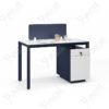 โต๊ะทำงาน โต๊ะออฟฟิตมีพาร์ทิชั่น 1.4m. PERFECT Series