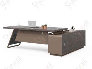 โต๊ะผู้บริหาร โต๊ะทำงานCEO 2.6m. NORDIC Series