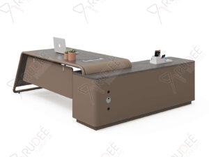 โต๊ะผู้บริหาร โต๊ะทำงานCEO 2.4m. NORDIC Series