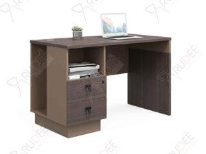 โต๊ะทำงานแบบ1ที่นั่ง1.2m. ตู้ข้างโปร่ง Mason Series