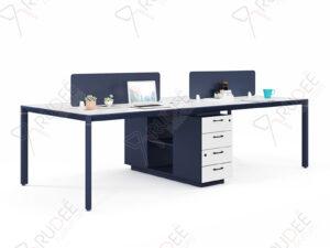 โต๊ะทำงานแบบ4ที่นั่ง2.4m. PERFECT Series
