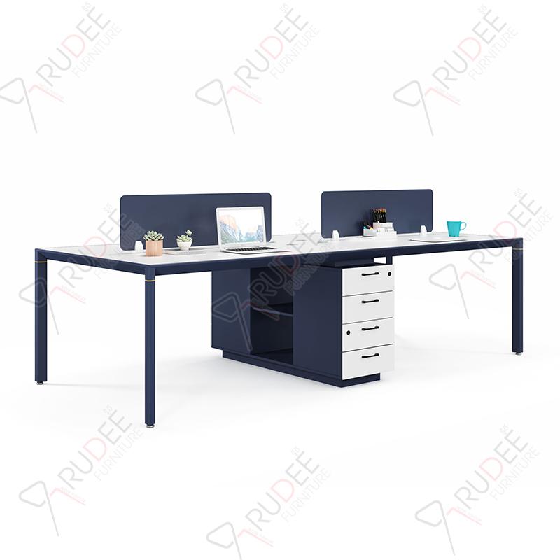 โต๊ะทำงานแบบ4ที่นั่ง2.8m. PERFECT Series