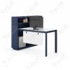 โต๊ะทำงานแบบ1ที่นั่ง1.5m.ตู้ข้าง PERFECT Series