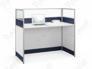 โต๊ะทำงาน1ที่นั่งพร้อมที่กั้น 1.2m. PREFECT Series
