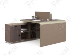 โต๊ะทำงานแบบ2ที่นั่ง1.2m. ตู้ข้างยาว Mason Series