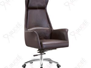 เก้าอี้หนังผู้บริหารหุ้มหนัง เบาะนุ่มนวล รุ่นRD-YUX-LE-5515A