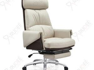 เก้าอี้หนังผู้บริหารหุ้มหนัง เบาะนุ่มนวล รุ่นRD-YUX-LE-820A