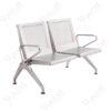 เก้าอี้แถวสแตนเลสแบบหนารุ่น2ที่นั่ง
