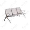 เก้าอี้แถวสแตนเลสแบบหนารุ่น3ที่นั่ง