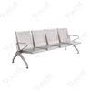 เก้าอี้แถวสแตนเลสแบบหนารุ่น4ที่นั่ง