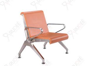 เก้าอี้สแตนเลส1ที่นั่งหุ้มเบาะPU