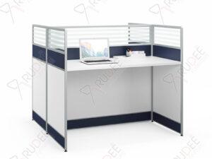 โต๊ะทำงาน2ที่นั่งพร้อมที่กั้น 1.2m. PERFECT Series