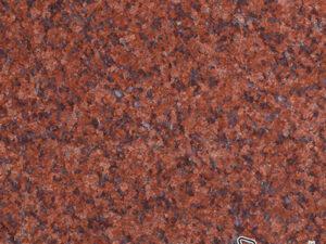 หน้าท็อปหิน หินแกรนิตแดงอินเดีย ( India Red )