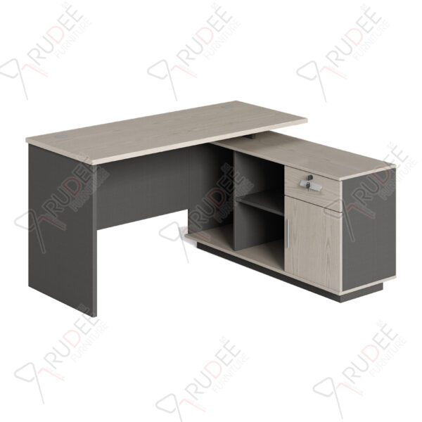 โต๊ะทำงานทรงตัวL 1.4m Ramsey Series