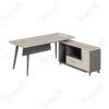 โต๊ะทำงานผู้บริหารทรงตัวแอล1.8ม. Ramsey Series