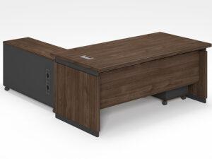 โต๊ะผู้บริหารExecutive Desk 1.8/1.6เมตร Muki Series