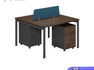 โต๊ะทำงาน2ที่นั่ง แบบกลุ่ม1.2เมตร Working Desk by Muki Series