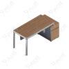 โต๊ะทำงานเดี่ยว ขนาด1.4ม. by Shalott Series