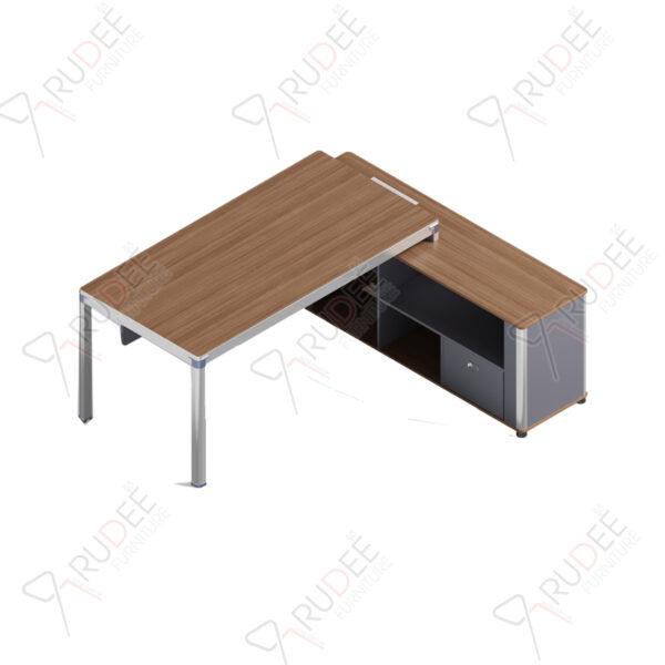 โต๊ะผู้จัดการ ทรงตัวL ขนาด1.8/1.6ม. by Shalott Series