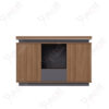 ตู้เอกสารกลาง ชั้นวางตกแต่ง ขนาด1.2ม. Document Cabinet by Shalott Series