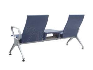 เก้าอี้สาธารณะ เก้าอี้แถว เบาะPU 2ที่นั่ง เพิ่มที่วางของ