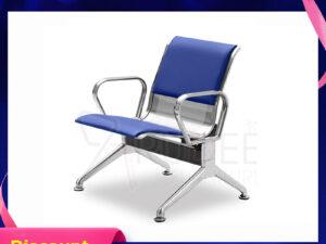 เก้าอี้สแตนเลส1ที่นั่งหุ้มเบาะหนัง